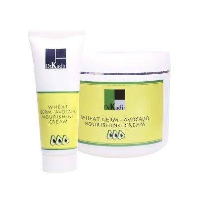 Питательный крем с маслом зародышей пшеницы и авокадо Dr. Kadir Wheat Germ Oil & Avocado Nourishing Cream