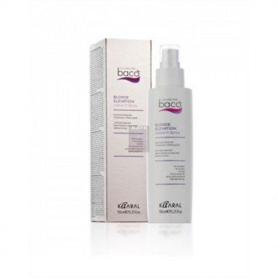 Спрей для осветленных волос Kaaral Baco Color Blonde Elevation Leave-in Spray 150 мл
