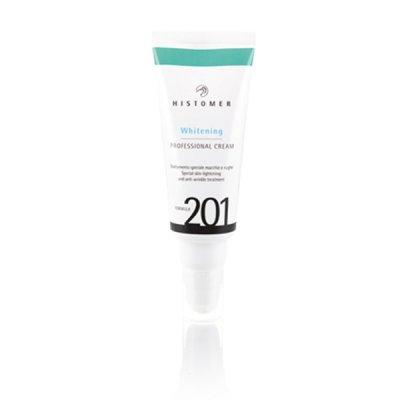 Финишный мультиактивный крем для осветления и сияния кожи Histomer Formula 201 Whitening Professional Cream 100 мл