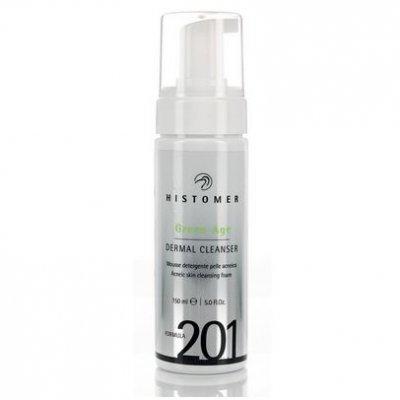 Очищающий мусс Histomer Formula 201 Green Age Dermal Cleanser 150 мл