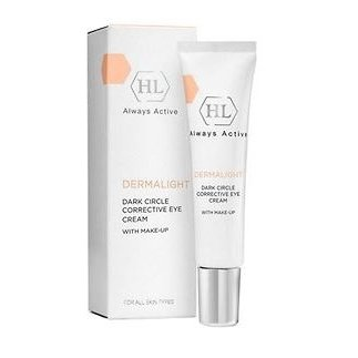 Корректирующий крем для век с тоном Holy Land Dermalight Dark Circle Corrective Eye Cream Make-Up 15 мл