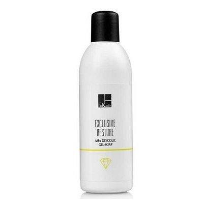 Гликолевое гель мыло с альфа-гидроксильной кислотой Dr. Kadir Exclusive Restore Glycolic AHA Gel Soap 200 мл