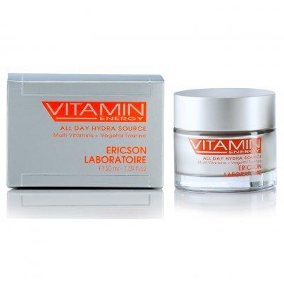Увлажняющий тонизирующий крем Ericson Laboratoire Vitamin Energy All Day Hydra Source 50 мл