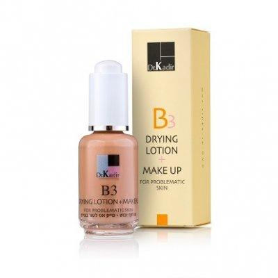 Тонирующая подсушивающая эмульсия для проблемной кожи Dr. Kadir B3 Drying Lotion+Make Up For Problematic Skin 30 мл