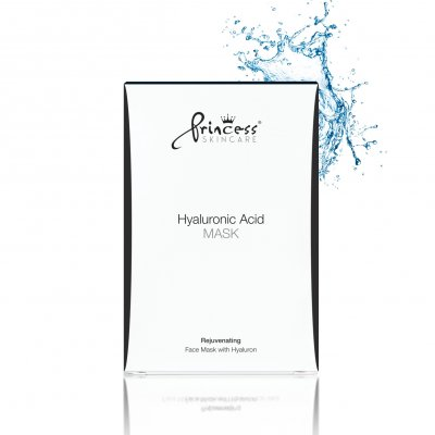 Маска для лица с гиалуроновой кислотой Princess Face Mask with Hyaluronic Acid 8 шт