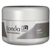 Матовая глина для волос нормальной (эластичной) фиксации 75 мл, Londa Professional Matt Mud Shift
