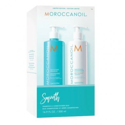 Набор разглаживание Moroccanoil - Smooth Shampoo & Conditioner Duo