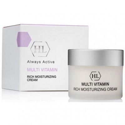 Увлажняющий крем для лица Holy Land Cosmetics Multi Vitamin Rich Moisturizing Cream 50 мл