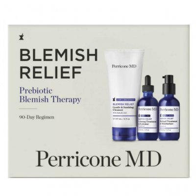 Набор для проблемной кожи Perricone MD Blemish Relief Prebiotic Blemish Therapy 90-Day Regimen Kit