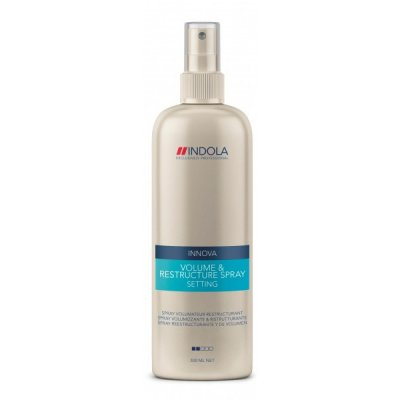 Спрей для придания объема Indola Innova Styling Setting Volume & Restructure Spray 300 мл