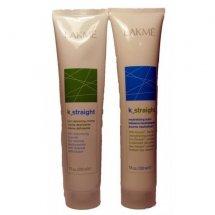 Комплекс для удаления завитков для пористых и чувствительных волос Lakme K-STRAIGHT 1