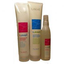 Комплекс для пористых и чувствительных волос Lakme K-STRAIGHT IONIC 1