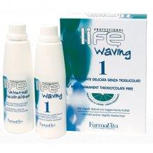 Биозавивка с запахом цитруса на основе цистеамина без тиогликолевой кислоты Farmavita Life Waving 1