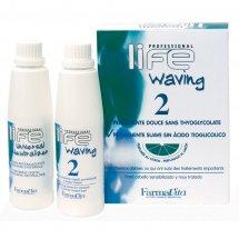 Биозавивка с запахом цитруса для поврежденных волос Farmavita Life Waving 2 110 мл