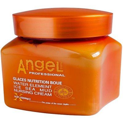 Питательный крем для волос с замороженной морской грязью ANGEL Professional Water Element Ice Sea Mud Nursing Cream