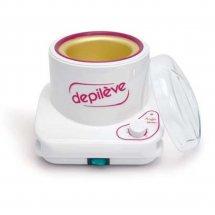 Нагреватель с крышкой парафина для лица и воска для банок Depileve Facial paraffin warmer 400 гр