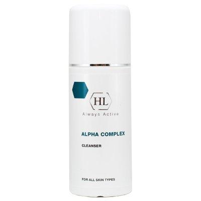 Очиститель для всех типов кожи с фруктовыми кислотами Holy Land Alpha Complex Cleanser 250 мл