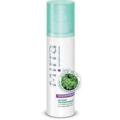 Лосьон тонизирующий для нормальной кожи с экстрактом стевии и антиоксидантами Mirra Daily 125 мл