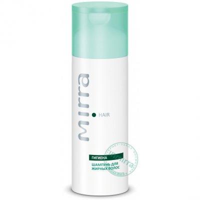 Шампунь для жирных волос с протеинами злаков и пихтой сибирской Mirra Hair 150 мл