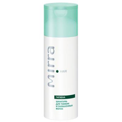 Шампунь для тонких и окрашенных волос с протеинами злаков и аминокислотами Mirra Hair 150 мл
