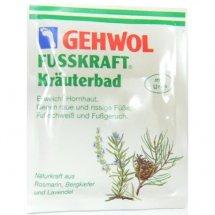 Травяная ванна для ног Gehwol Fusskraft Krauterbad 10 шт * 20 гр