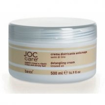 Крем–кондиционер выпрямляющий для вьющихся волос с маслом семени льна Barex Joc Care 1000 мл