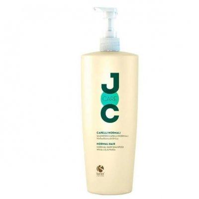Шампунь для нормальной и жирной кожи головы с экстрактом белой кувшинки и крапивы Barex Joc Care 1000 мл