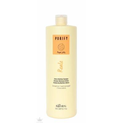 Интенсивный питательный шампунь c маточным молочком, маслами оливы и лимантеса Kaaral Purify Reale Intense Nutrition Shampoo 1000 мл