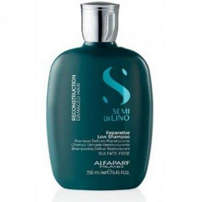 Шампунь для реконструкции волос Alfaparf Milano Semi Di Lino Reconstruction Reparative Shampoo