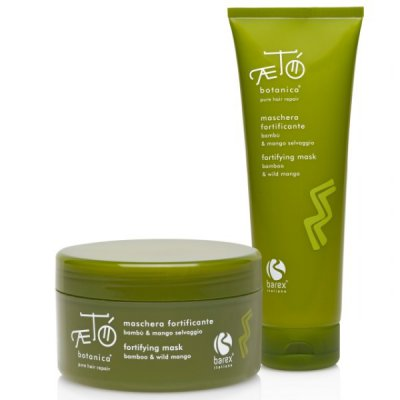 Маска укрепляющая c экстрактом бамбука и дикого манго Barex Fortifying Mask in Tub Bamboo & Wild Mango