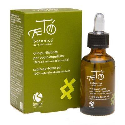 Экстракт масел экзотических растений для поврежденной кожи головы Barex Scalp De-toxer oil 30 мл