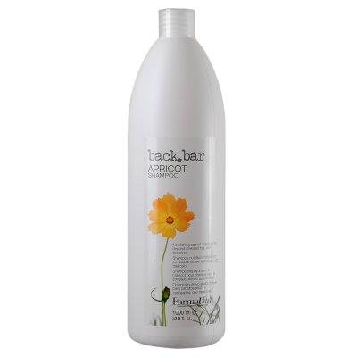 Шампунь абрикосовый для сухих волос Farmavita Back Bar Shampoo 1000 мл