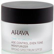 Крем омолаживающий увлажняющий выравнивающий тон кожи Ahava Age Control Even Tone SPF-20 50 мл