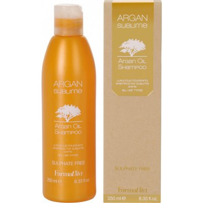 Шампунь с аргановым маслом Farmavita Argan Sublime Shampoo