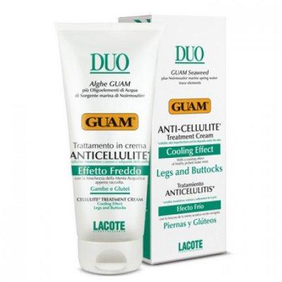 Антицеллюлитный крем с охлаждающим эффектом Guam DUO Anticellulite Effetto Freddo 200 мл