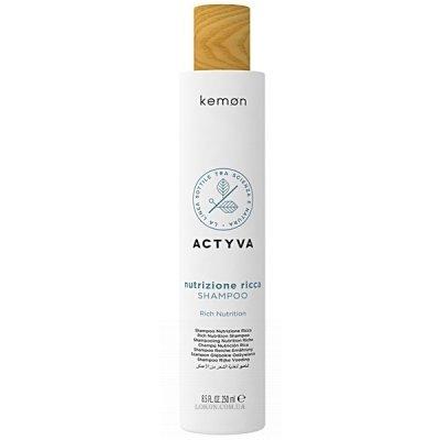 Шампунь для очень сухих волос Kemon Nutrizione Ricca Shampoo