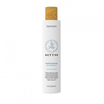 Шампунь для слегка сухих волос Kemon Actyva Nutrizione Light Nutrition