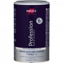 Порошок обесцвечивающий белый 500 мл,INDOLA Profession Rapid Blond White
