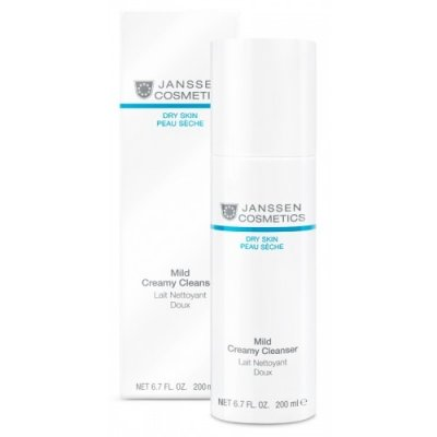 Очищающее молочко Janssen Dry Skin Sensitive Creamy Cleanser