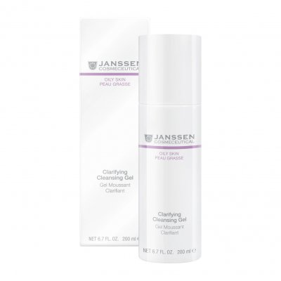 Очищающий гель Janssen Oily Skin Clarifying Cleansing Gel