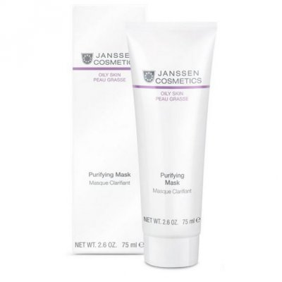 Очищающая маска Janssen Oily Skin Purifying Mask