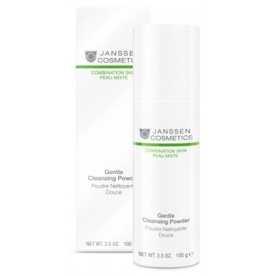 Очищающая пудра Janssen Combo Skin Gentle Cleansing Powder 100 мл