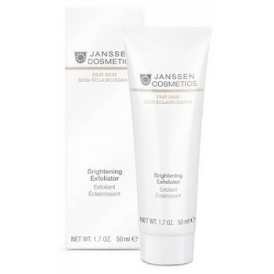 Осветляющий пилинг Janssen Fair Skin Brightening Exfoliator